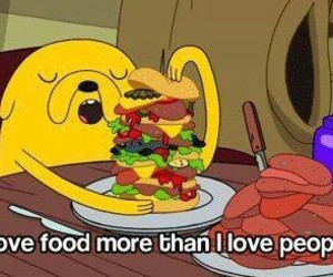 food, JAKe, and love image