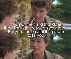 the fault in our stars, tfios, and metaphor image