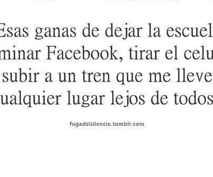 frases, facebook, and lejos image