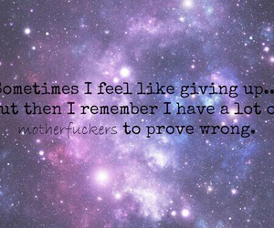 quote and galaxy image