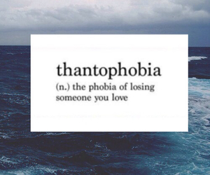 love, phobia, and sad image