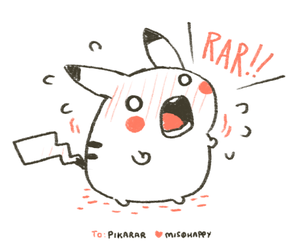 pikachu, rar, and pika image
