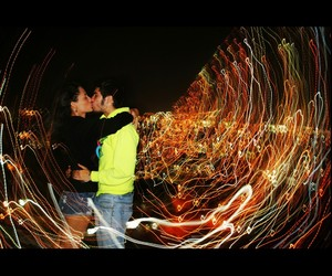 effect, kiss, and lights image