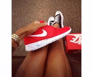 beautiful, nike, and red image