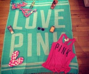 pink, vs, and love image