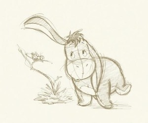 drawing, winnie the pooh, and art image