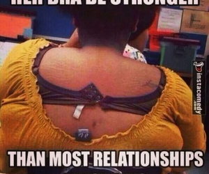 funny, bra, and Relationship image