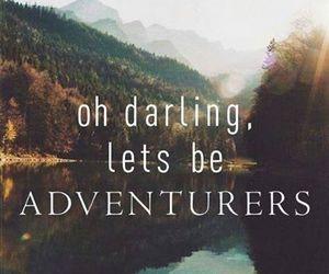 landscape, lets, and adventurers image