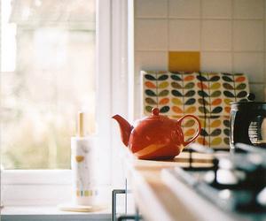 vintage, kitchen, and tea image