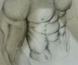 abs, art, and beautiful image