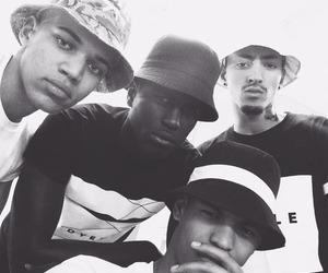 black&white, boys, and n'ggas image