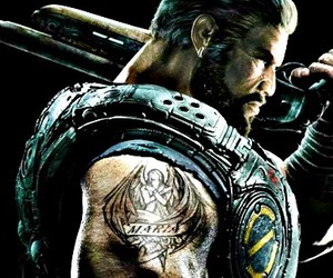 gears of war, facebook cover, and dominic santiago image