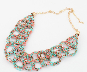 accessories, fashion jewelry, and necklace image
