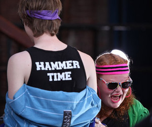 hannah, cameron mitchell, and the glee project image