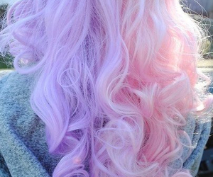 hair, pink, and cute image