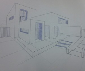 architecture, draw, and drawing image
