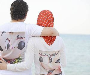 family, islam, and just married image