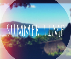 summer, sun, and time image