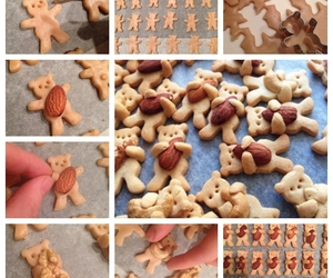 Cookies, recipe, and teddy bear image
