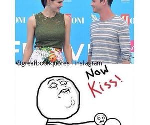 kiss and funny image