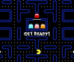 game, Pac Man, and gameboy image