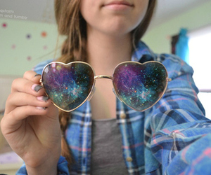 galaxy, quality, and sunglasses image