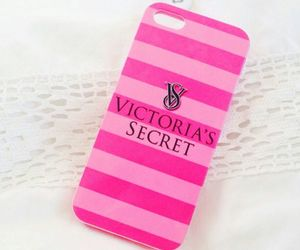 Victoria's Secret, pink, and iphone image