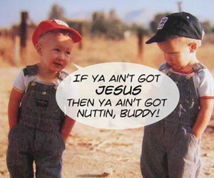 jesus, kids, and quote image
