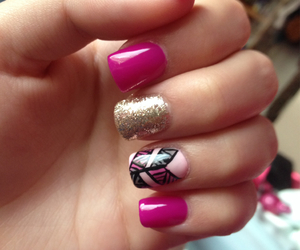 girls, nail art, and pretty image