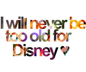 disney, never, and old image