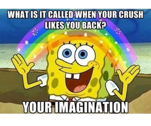 crush, funny, and imagination image