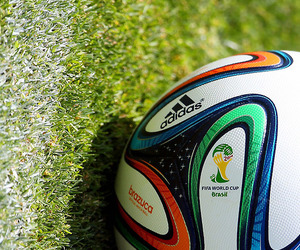 ball, brasil, and world cup image