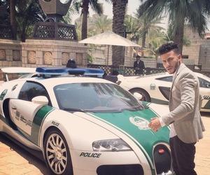 Dubai, car, and police image