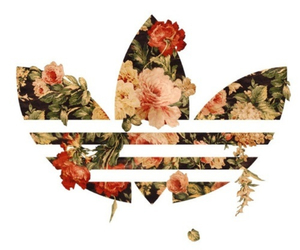 floral and adidasoriginals image