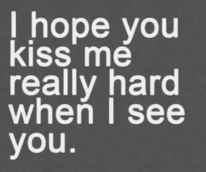 kiss, love, and quotes image