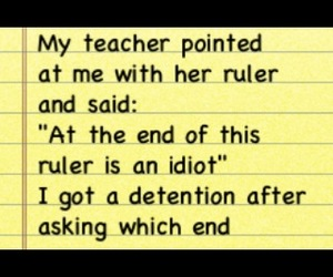 funny, lol, and ruler image