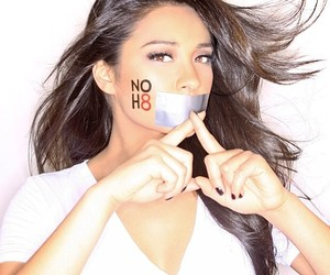 shay mitchell, pretty little liars, and noh8 image