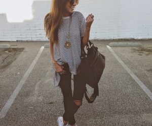 fashion, bag, and converse image
