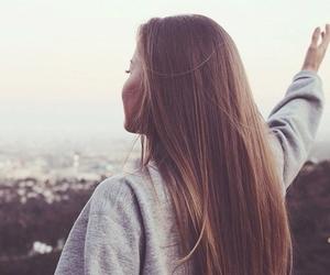 girl, hair, and free image