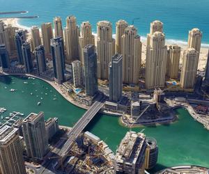 Dubai, summer, and sea image