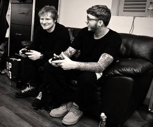 ed sheeran and james arthur image