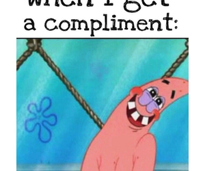 compliment, funny, and text image