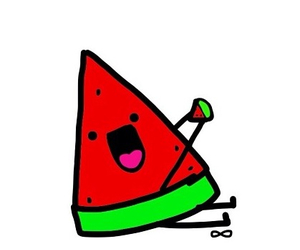 background, watermelon, and cute image