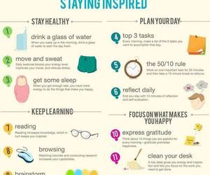 healthy, inspired, and learning image
