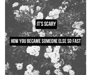 change, scary, and flowers image
