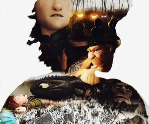 hiccup, how to train your dragon, and astrid image