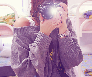 camera, fashion, and cute image