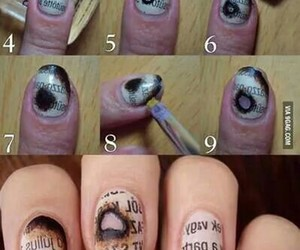books, nails, and cute image