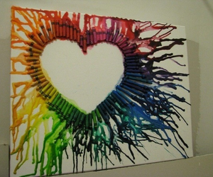 crayon, cool, and love image