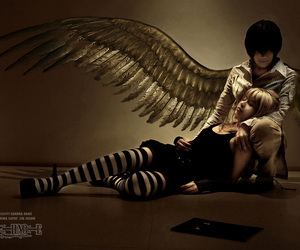 cosplay and death note image